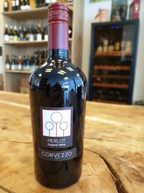 corvezzo vino rosso merlot bio