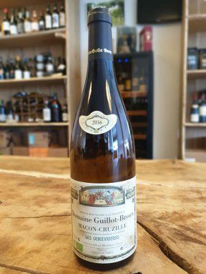 """Guillot-Broux Macon-Cruzille """"Les Genièvrières 2016 bl"""