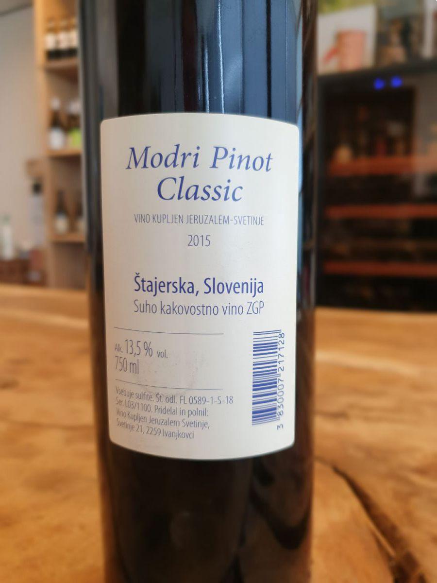 vino kupljen pinot nero