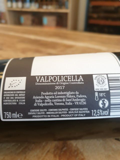 wild nature valpolicella doc